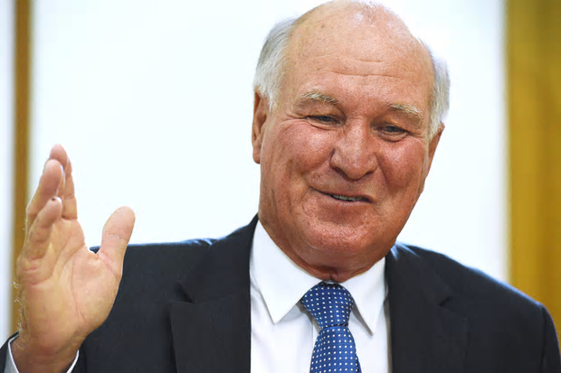 Tony Windsor Photo Mick Tsikas AAP